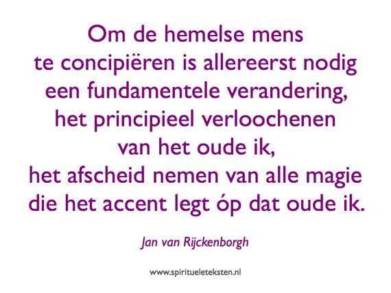 Citaat Jan van Rijckenborg over het concipiëren van de hemelse mens