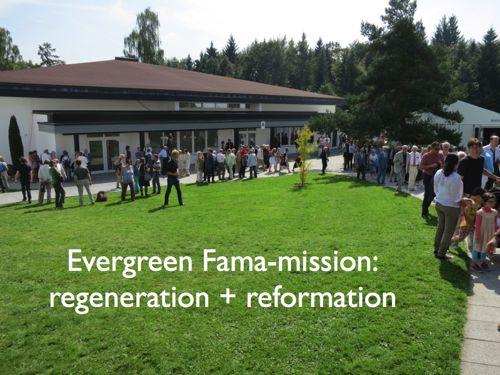Altijd actuele missie van de Fama Fraternitatis RC regeneratie en reformatie
