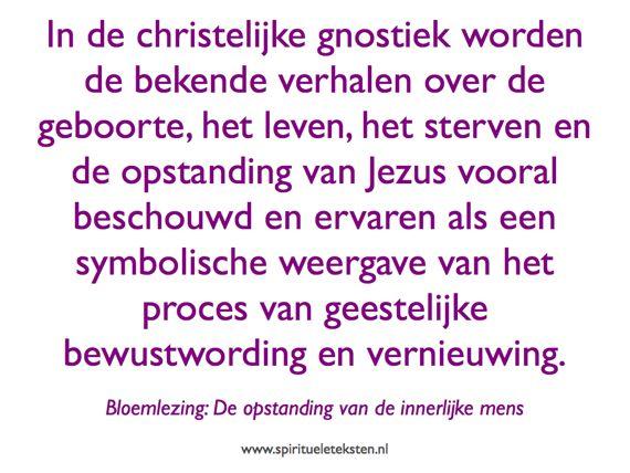 christelijke gnostiek de opstanding van de innerlijke mens 570
