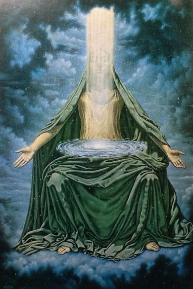 De Universele moeder Isis Maria Johfra