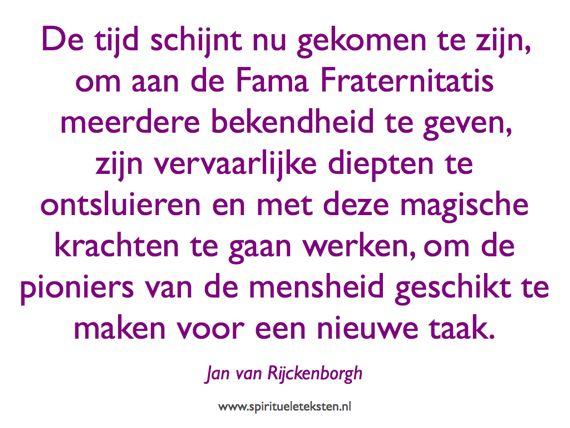 Fama Fraternitatis 400 jaar citaat spirituele teksten Jan van Rijckenborgh 570