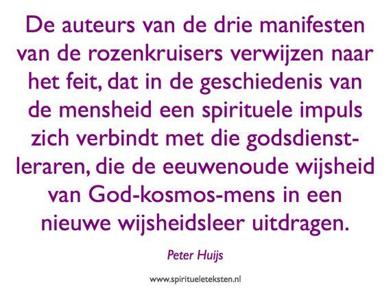God kosmos mens wijsheidsleer rozenkruisers citaat spirituele teksten 570