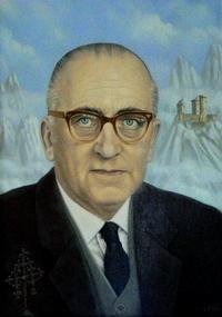 Jan van Rijckenborgh schilderij
