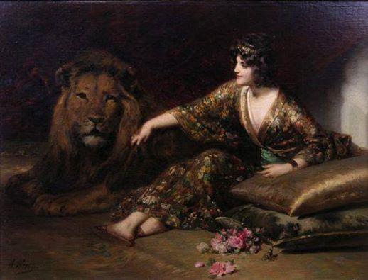 leeuw en vrouw Adolphe Weisz