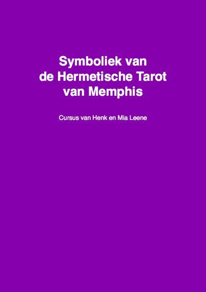 Cover symboliek van de Hermetische Tarot cursus Henk Leene 570