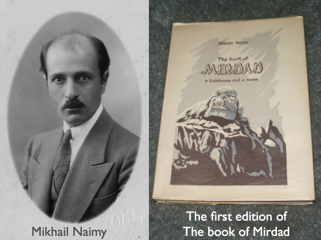 The first edition of the book of Mirdad from Mikhail Naimy.001