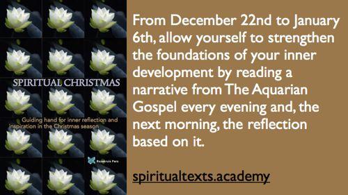 Spiritual Christmas book