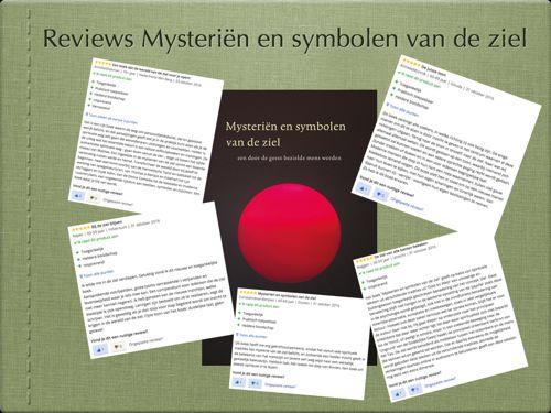 reviews en recensies boek mysteriën en symbolen van de ziel