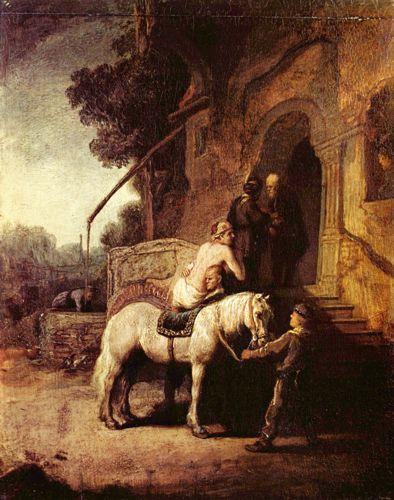 Barmhartige Samaritaan Rembrandt van_Rijn