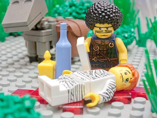 Barmhartige Samaritaan lego