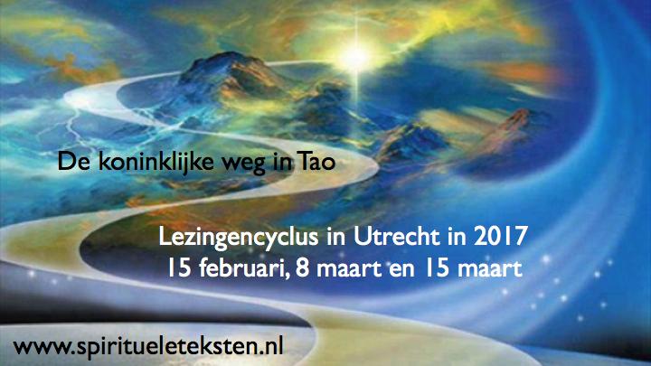 Lezingencyclus De koninklijke weg in Tao