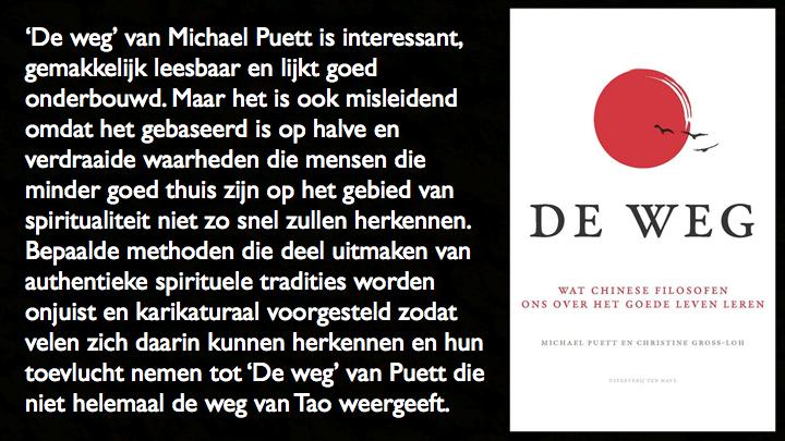 Recensie De weg van Michale Puett over Chinese filosofen beste spirituele boek 2017 CPNB Ten Have 3