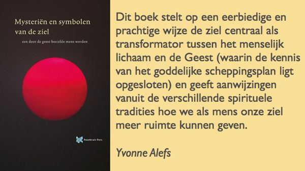 Review Yvonne Alefs Mysteriën en symbolen van de ziel