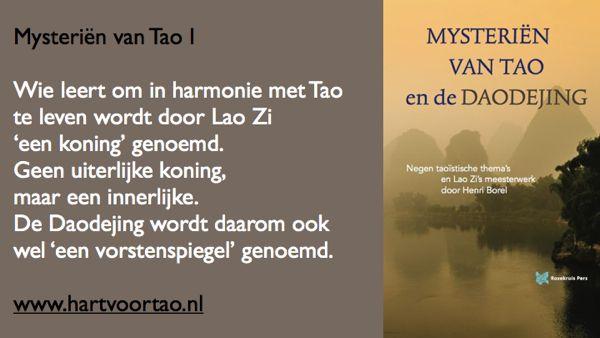 Tao Citaat mysterien van tao 1