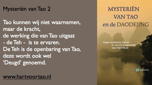 Tao Citaat mysterien van tao 2