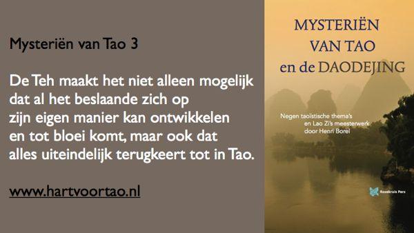 Tao Citaat mysterien van tao 3