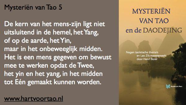 Tao Citaat mysterien van tao 5