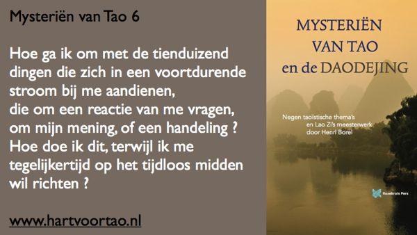 Tao Citaat mysterien van tao 6