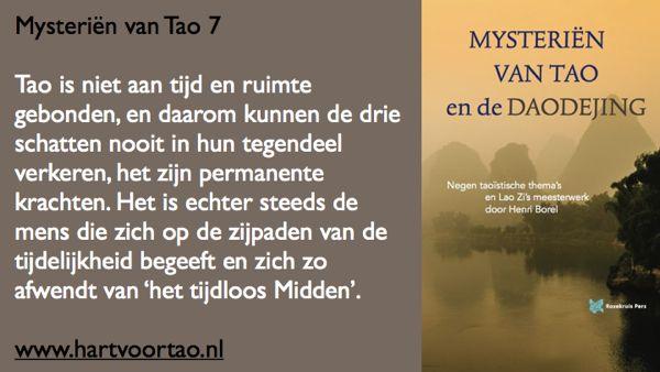 Tao Citaat mysterien van tao 7