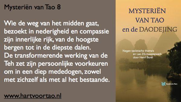 Tao Citaat mysterien van tao 8