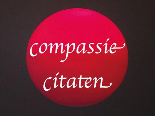 compassie citaten en spreuken 500