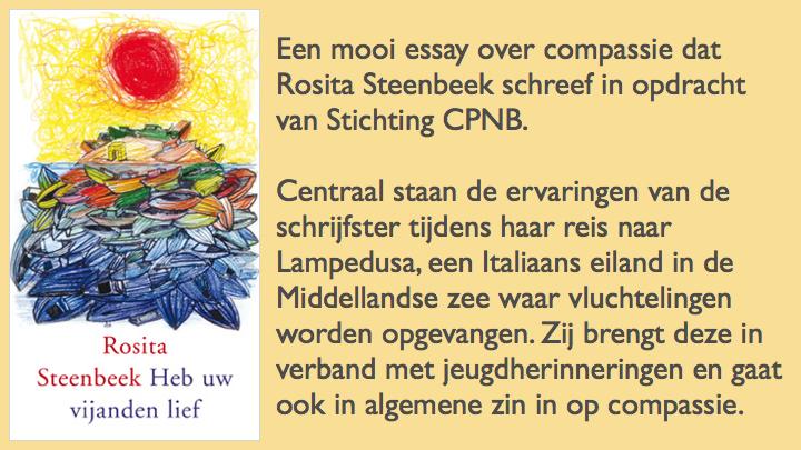 Heb uw vijanden lief Rosita Steenbeek essay compassie maand van de spiritualiteit 2017.077