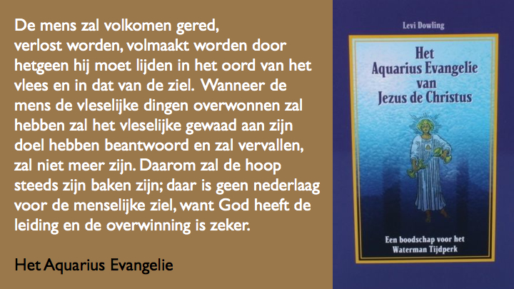Wat is de mens Aquarius Evangelie.044