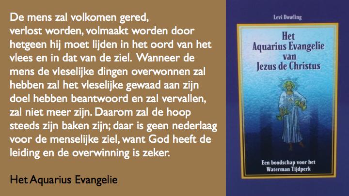 Wat is de mens Aquarius Evangelie.044
