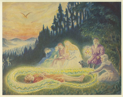 Daniel van Bemmelen sprookje van de groene slang en de schone lelie Goethe 2