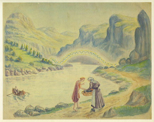 Daniel van Bemmelen sprookje van de groene slang en de schone lelie Goethe