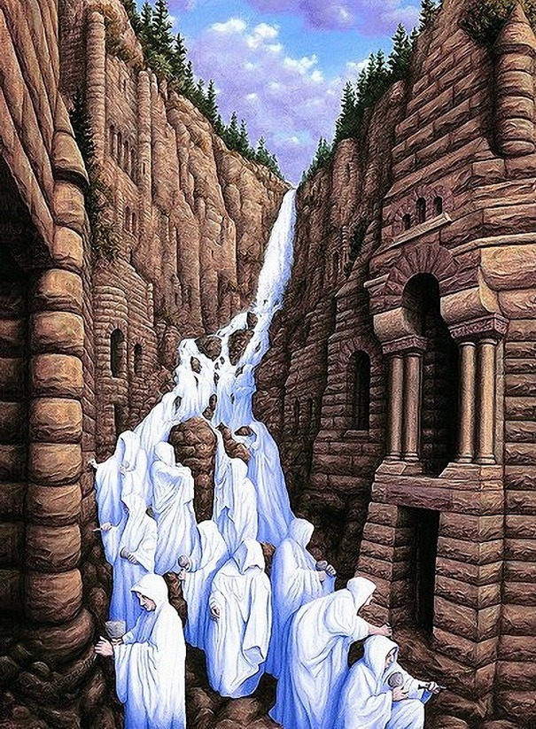 Rob Gonsalves schepping kunst en natuur