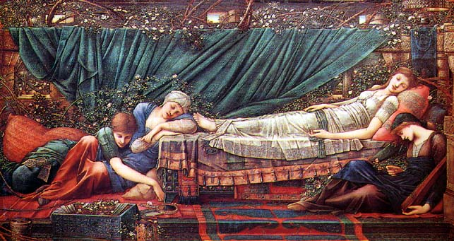 The sleeping beauty Edward Burne Jones 1