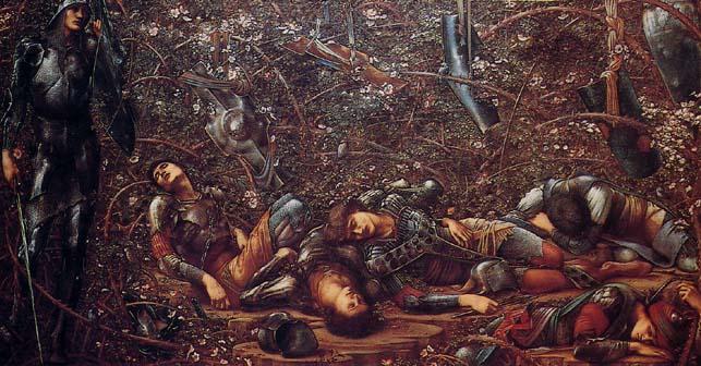 The sleeping beauty Edward Burne Jones 2