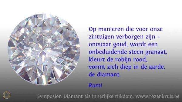 Rumi Citaten Nederlands : Symbool diamant als innerlijke rijkdom eigenschappen en