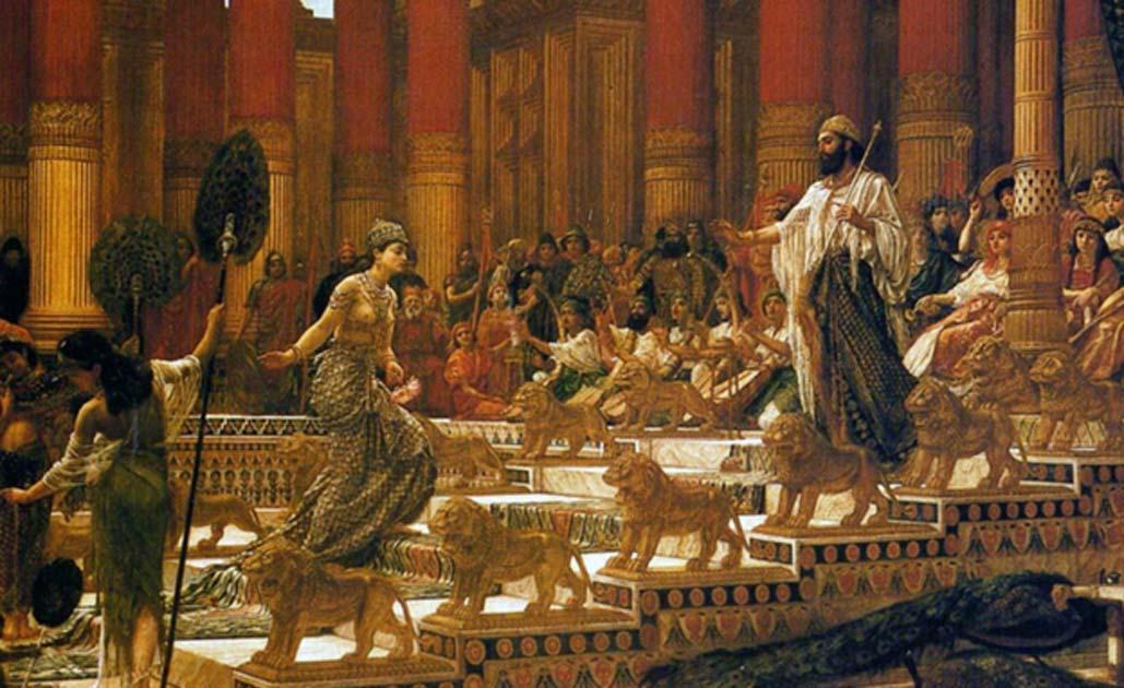 de wijze koning salomo verlichte vorst begaafd denker en opdrachtgever voor de bouw van de eerste tempel in jeruzalem